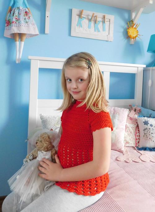 Dívčí tunika
