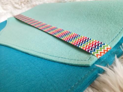 Obal na notebook - veselý modrý