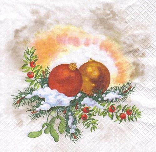 Ubrousek - vánoční ozdoby