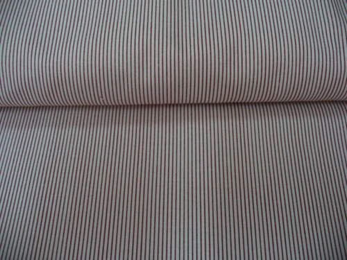 Bavlna s hustými prúžkami