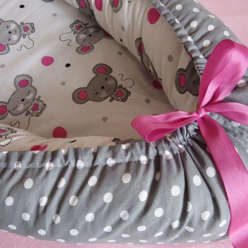 Hnízdečko pro miminko - myšičkové