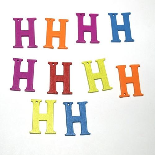ABCeda písmena 21-23mm jednotlivá pismenka (10ks)