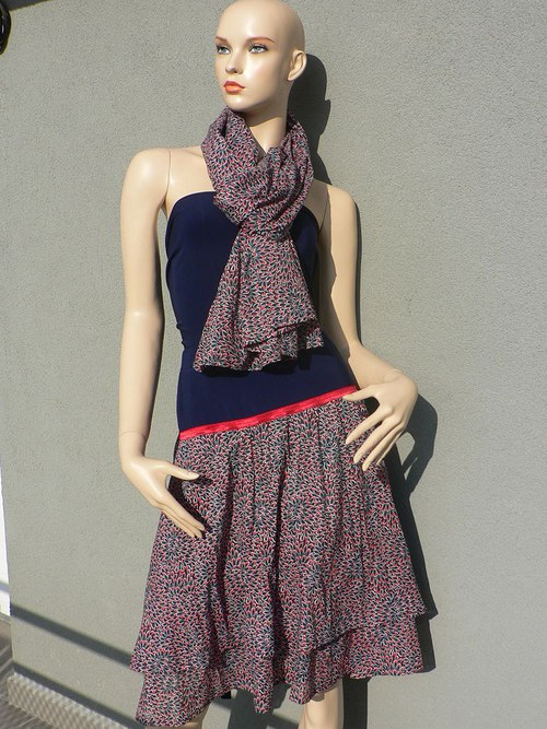 bavlněná sukně