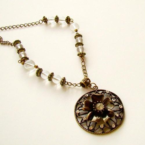 náhrdelník Květ 3