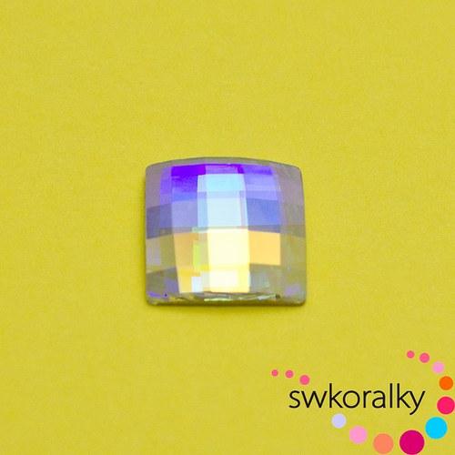 CHESSBOARD 10 SWAROVSKI ® ELEMENTS - crystal AB