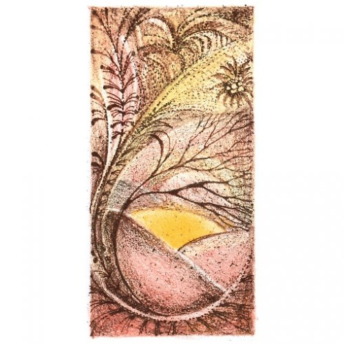 Originál litografie - MILÝ ČAS