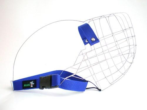 Coursingový náhubek XXL - modrý