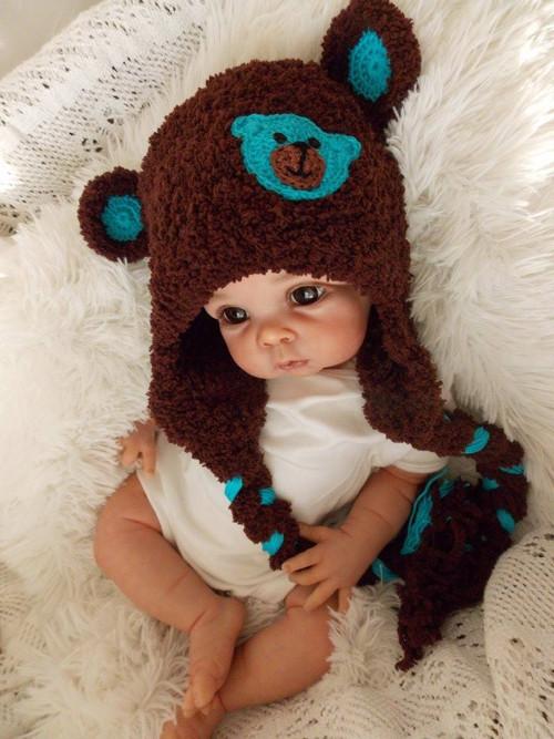 chlupatka s medvědem