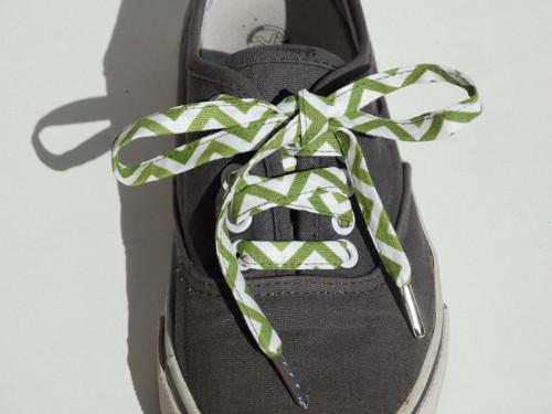 Tkaničky Zelená zmije - 1 pár