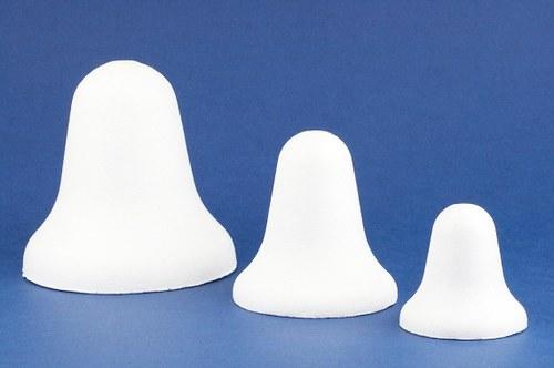 Zvoneček - polystyren, formička 6cm