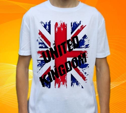 Dětské tričko s motivem  Vlajka ANGLIE