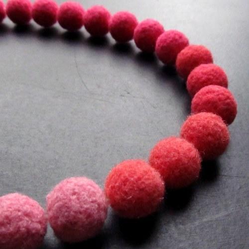 Plyško-náhrdelník růžová