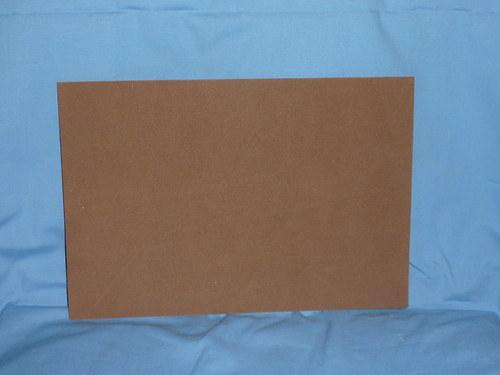 Moosgumi tmavě hnědá- 20x29cm