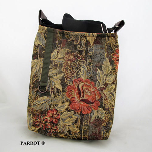 ROSSE FLOWER * LITTLE BAG * no. 01 * PARROT®