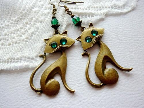 Kočičky do ouška