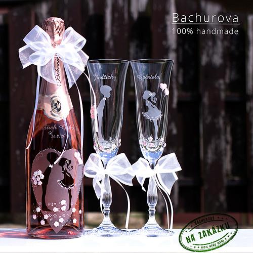 Svatební šampus Bohemia sekt_