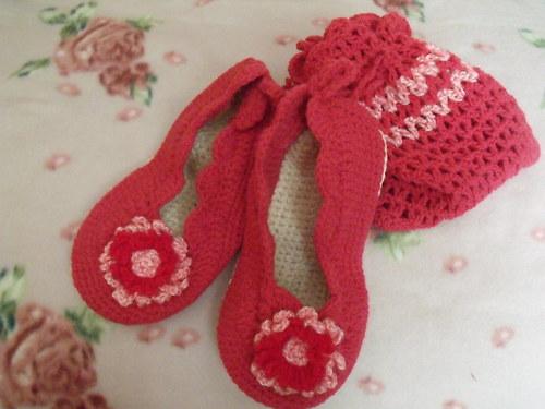 Růžové papučky