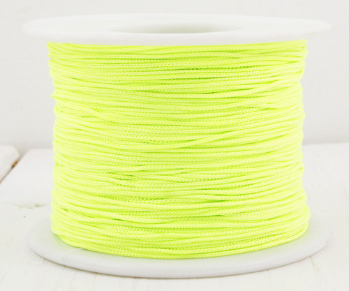 20m 65 22yrd Acid Green Nylon Kabel Makramé Vlákno