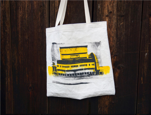 Plátěná taška_Plátěnka Strahov žlutá
