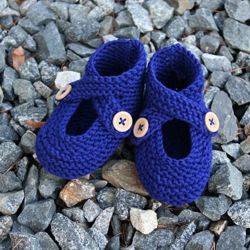 Pletené capáčky pro miminko z MERINO vlny