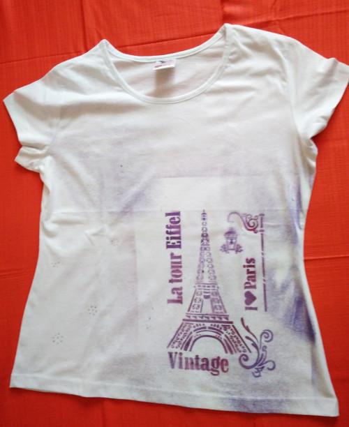 Dámské tričko Paris
