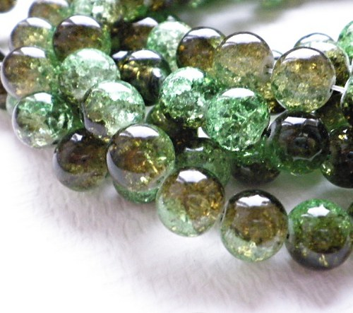 Zelené  práskačky, 1cm - 10ks