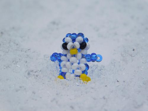 Tučňák tmavomodrý - přívěsek na náramek