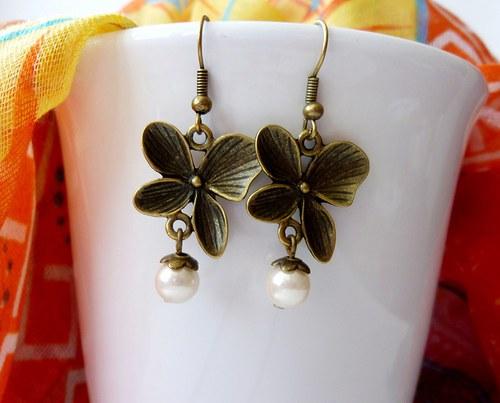 Náušnice s perličkami
