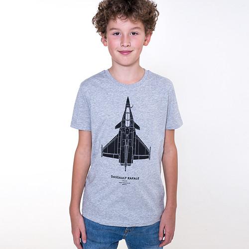 RAFALE heather gray / dětské tričko