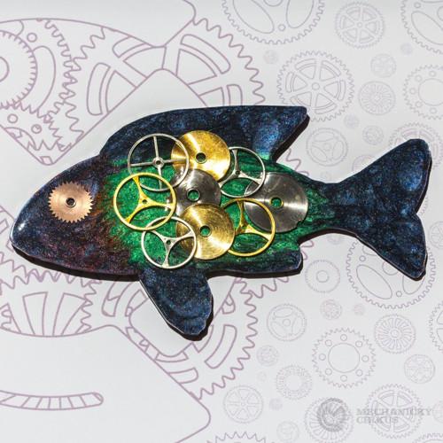 Rybička modro-zelená