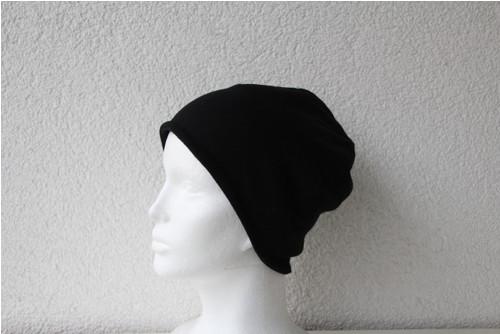 Oboustranná čepice pánská černá