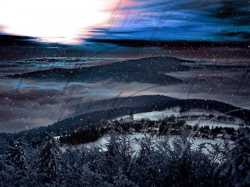 Východ Slunce ze Štěpánky..