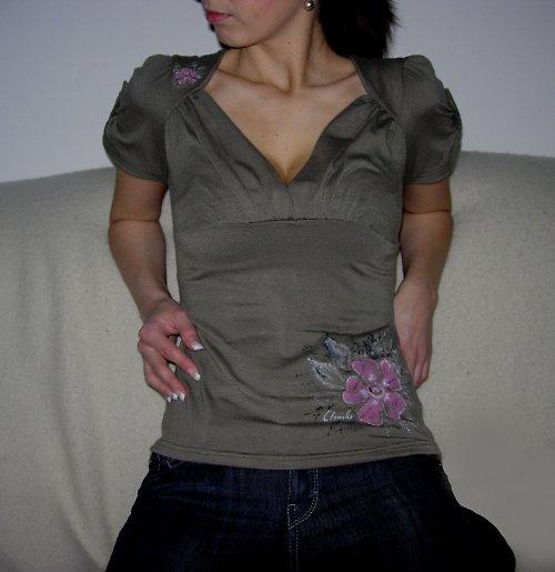 Tričko s malůvkou