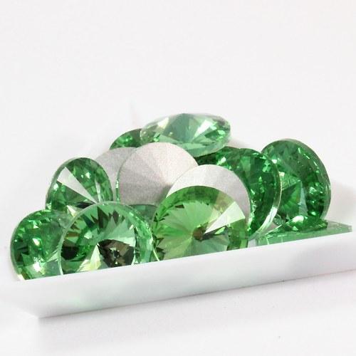 Rivoli 16 mm zelenkavé 4 ks