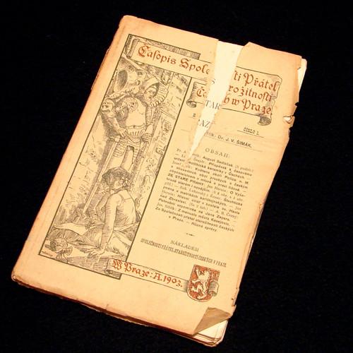 Časopis Společnosti Přátel Starožitností - 1/1903
