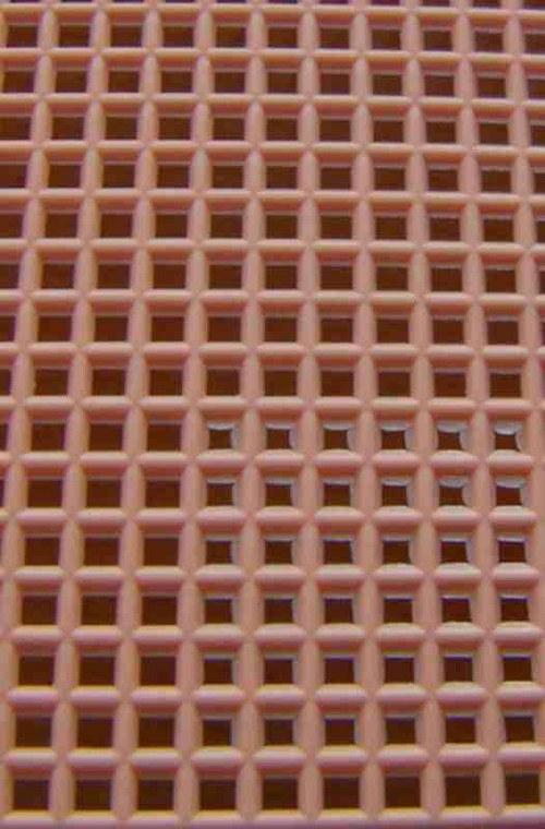 Plastová kanava I - světle oranžová