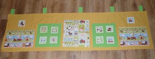 Zvířátkový kapsář s patchworkem