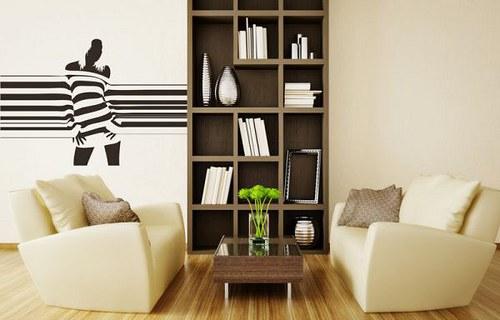 Samolepíci dekorace na zeď 2501n