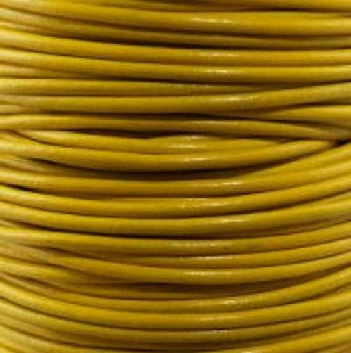 kulatá kůže žlutá 1 mm