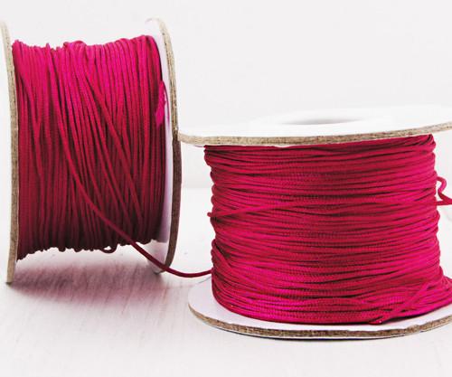 20m 65 22yrd Bright Rose Red Nylon Kabel Makramé V
