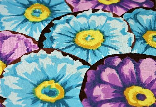 Kvetoucí - nažehlovací obrázky