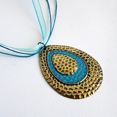 náhrdelník Tyrkysová kapka