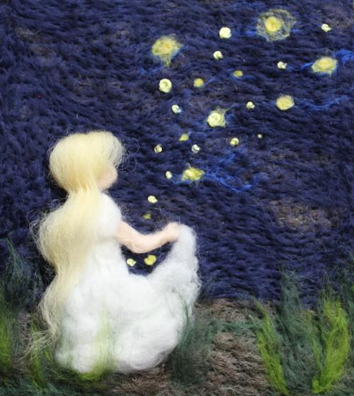 Děvčátko a hvězdy