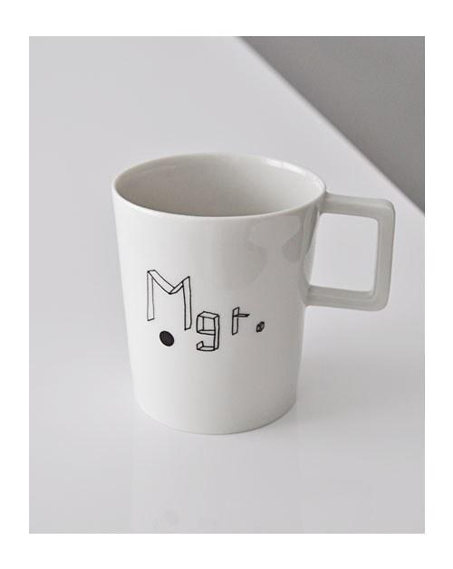 """Autorský porcelánový hrnek - \""""de\'form_velký Mgr.\"""""""