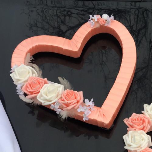 Auto nevěsty srdce
