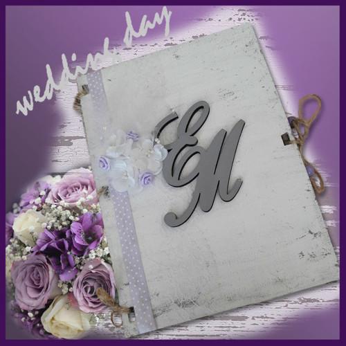 Svatební kniha Violet