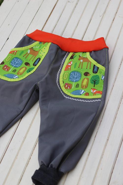Softshellové kalhoty...vel.80-86