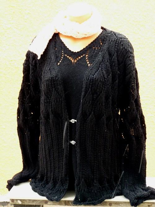 Komplet svetřík+halenka