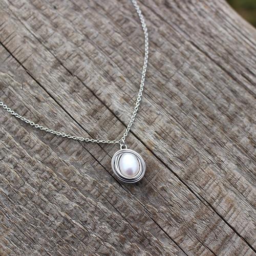 Sirenne • perla, nerez. ocel