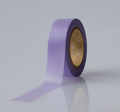 Japonská lepící páska washi-fialová